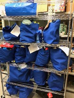 Hannukah helper gift bags
